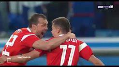 Футболная трансляция Россия - Египет.